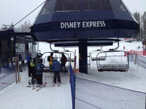 Snowing at Sugar Bowl Resort